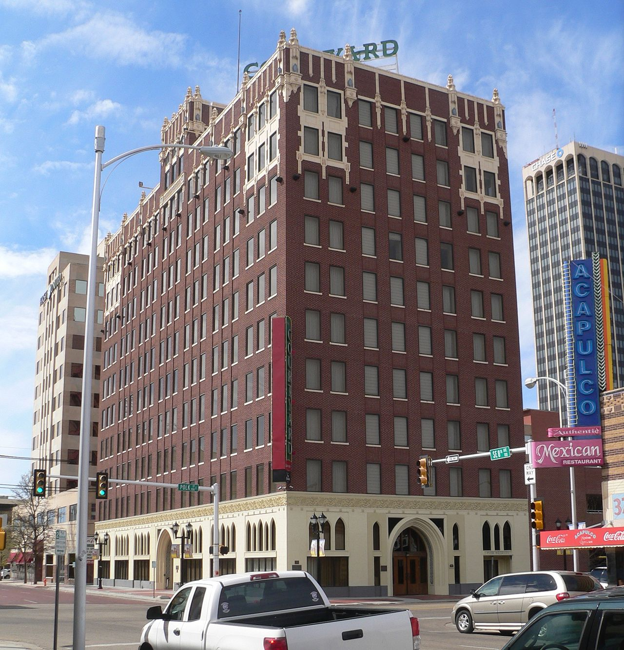 The Fisk Medical Arts Building was built in 1928 and was converted into a hotel in 2010.