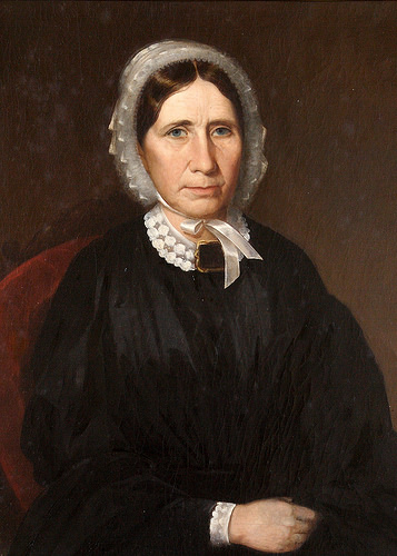 A painting of Sally Maney, the starter the constuction of the plantation.
