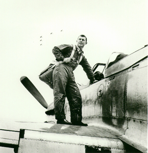 Chuck Yeager As a Young Adult in the U.S. Airforce
