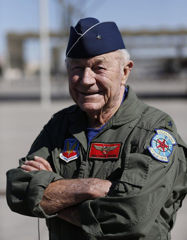 Chuck Yeager 65 Years after his first flight