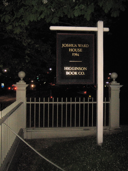 Joshua Ward Sign