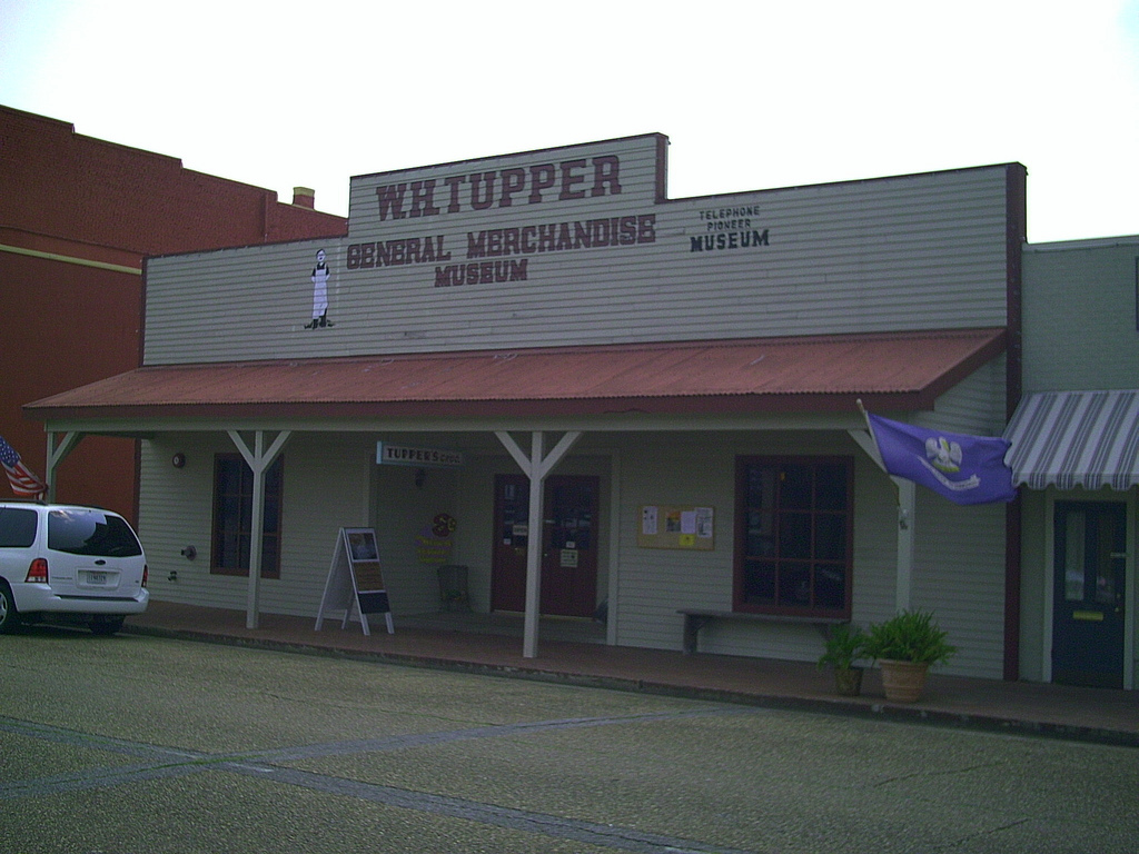 Visitors to the museum are surrounded by sights, sounds and ambiance of the original general store, operated in rural Jeff Davis Parish from 1910-1949.