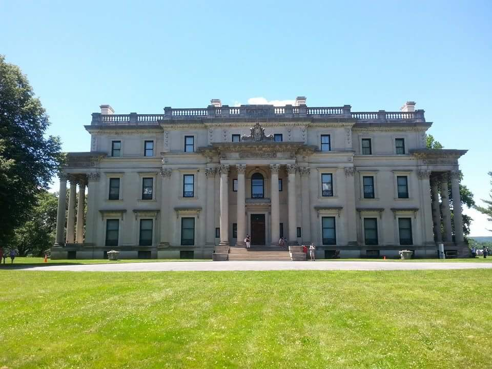 The Vanderbilt Mansion in Hyde Park