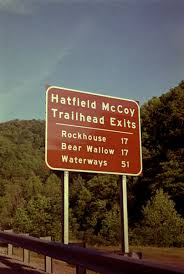 Hatfield McCoy Trails's Marker