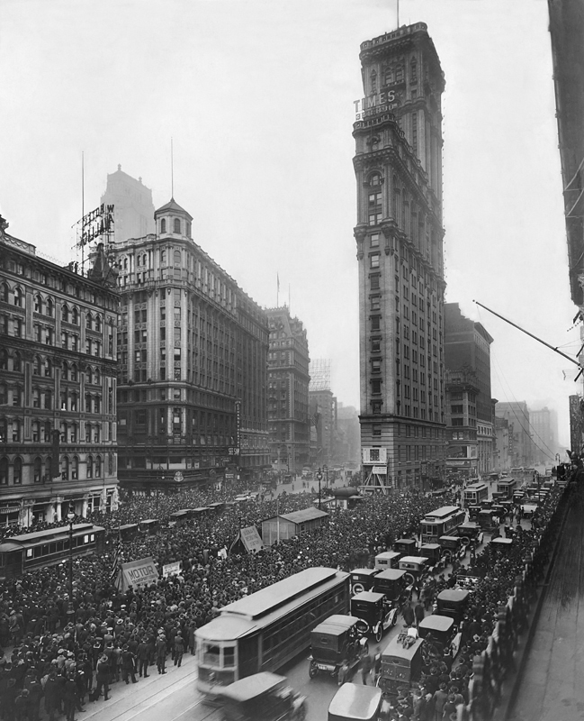 One Times Square, 1919