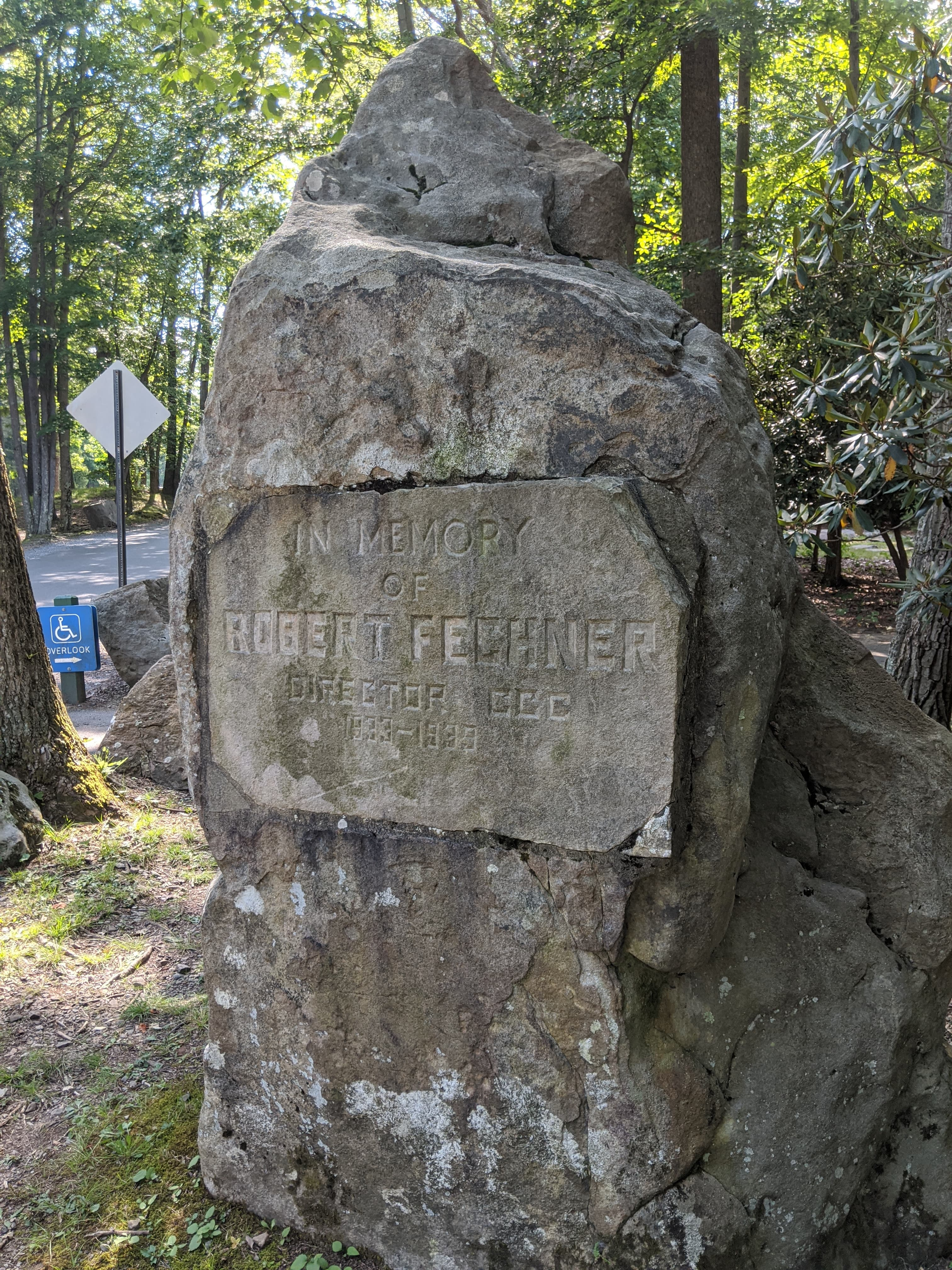 Robert Fechner Monument