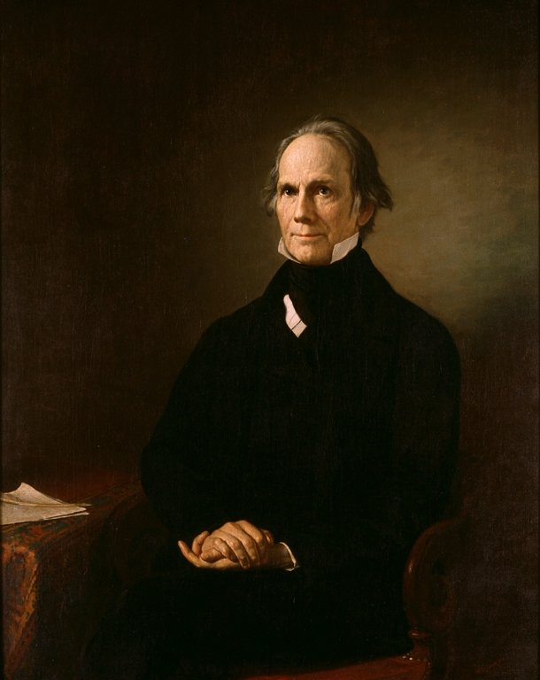 """Henry Clay is a famed US Senator known as the """"Great Compromiser"""". He was instrumental in formulating the Missouri Compromise. He served as the 9th Secretary of State and was a frequent visitor to the Inn."""