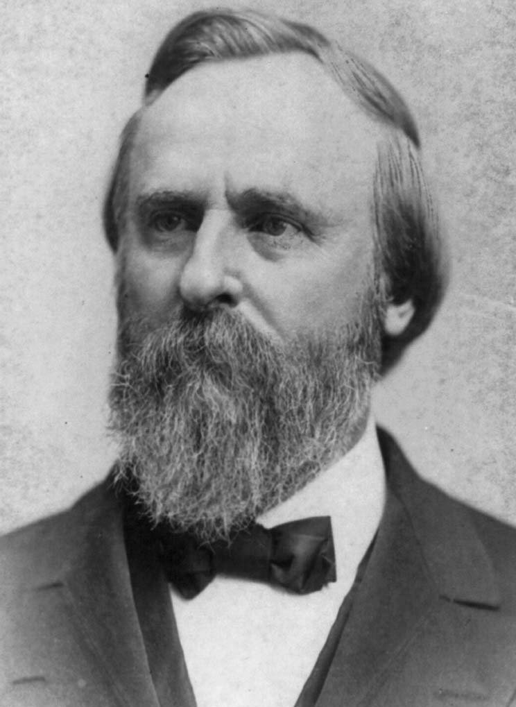 Rutherford B. Hayes, the 19th President of the United States, led the 23rd Ohio Volunteer Infantry while they were stationed here.