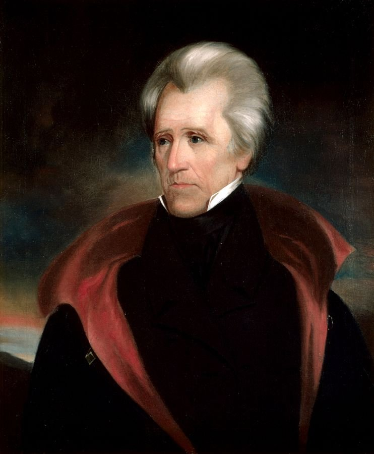 Andrew Jackson was the 7th President of the United States, serving from 1829-1837.