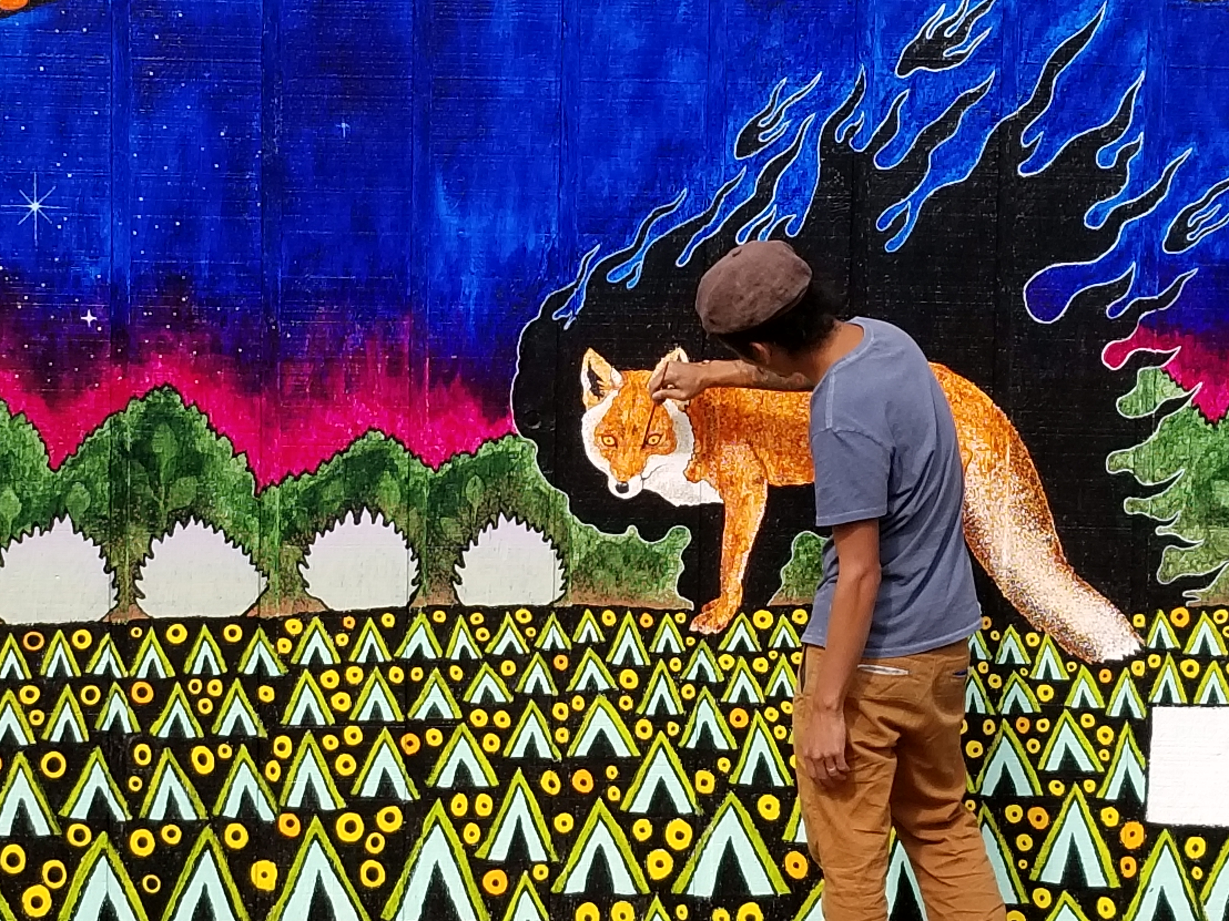 Mural by Chris Huang