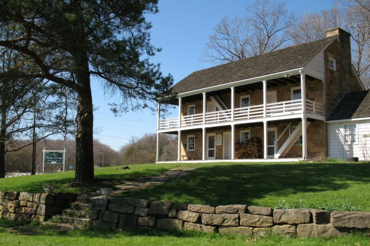 The Old Stone House is a historic inn and museum of rural life.