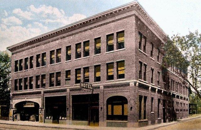 Ferguson Hotel and Theater.