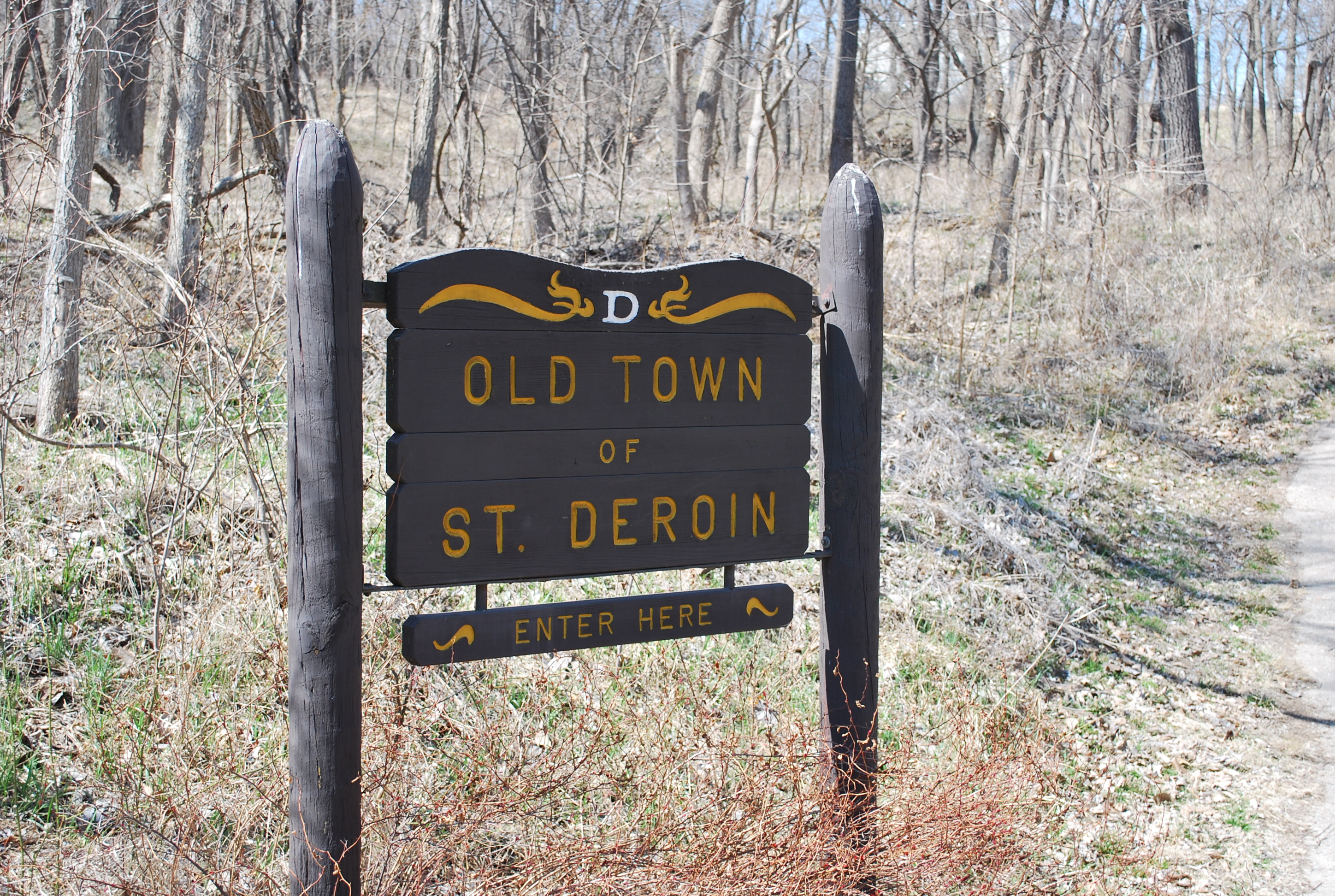St. Deroin Sign