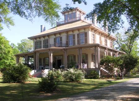 Fendall Hall is one of Alabama's outstanding Italianate houses and contains elaborate and rare interior decorative painting dating from the 1880s.
