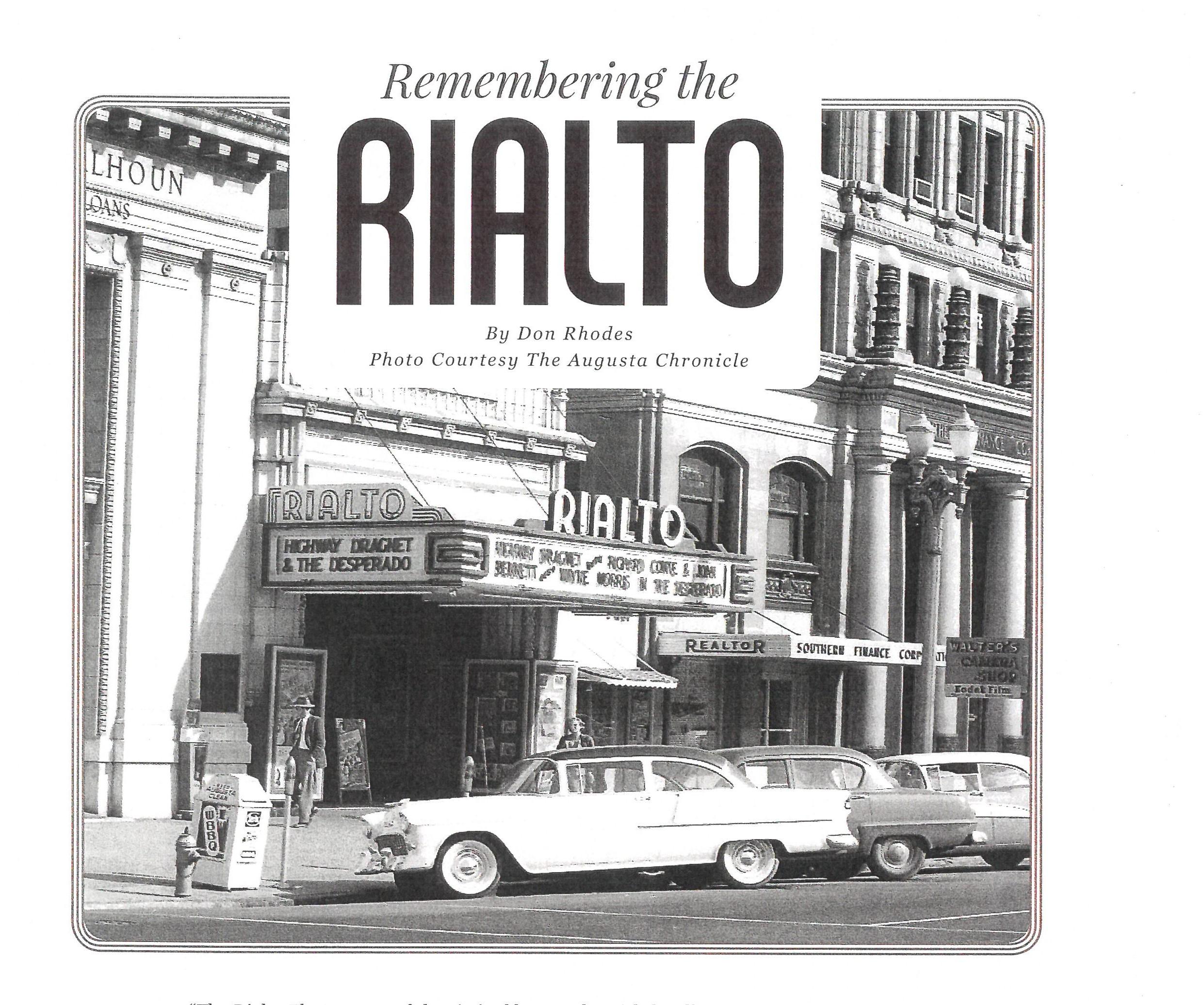Rialto Theater C. 1950