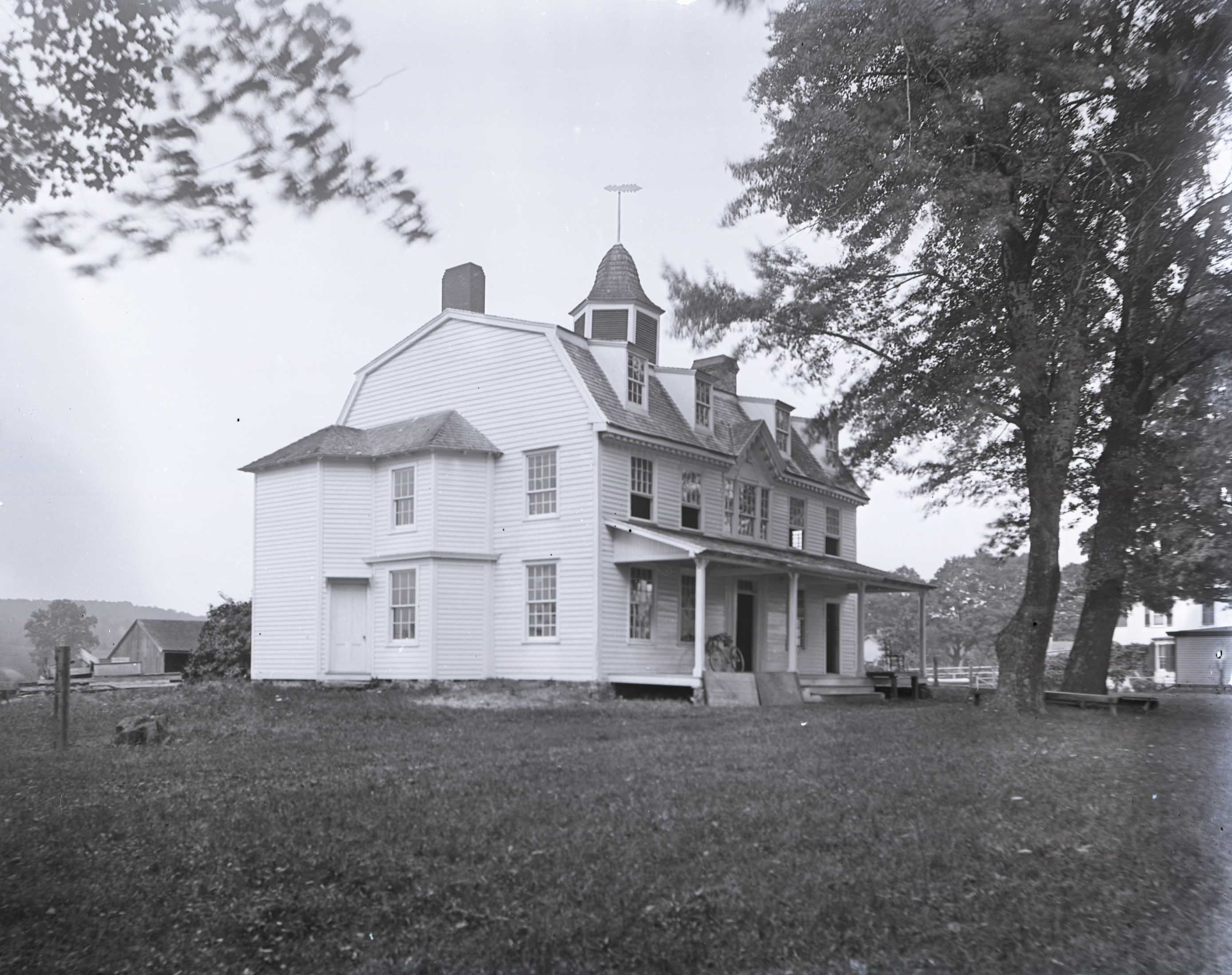 Stephen De Lancey House in 1909.