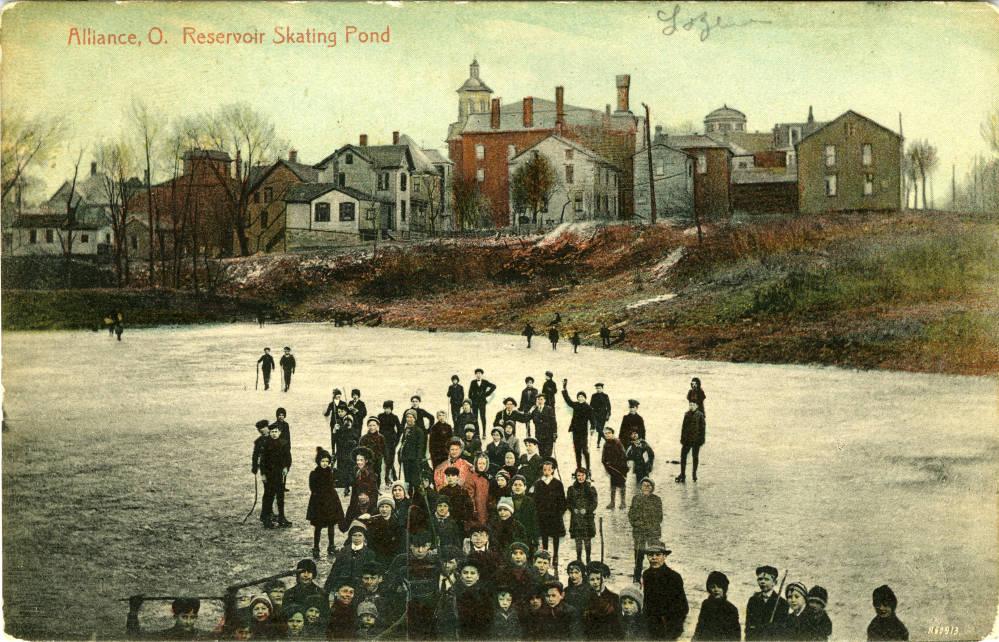 Alliance, O. Reservoir Skating Pond