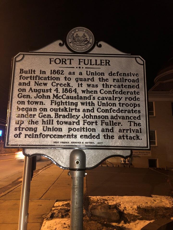 Fort Fuller Historic Marker
