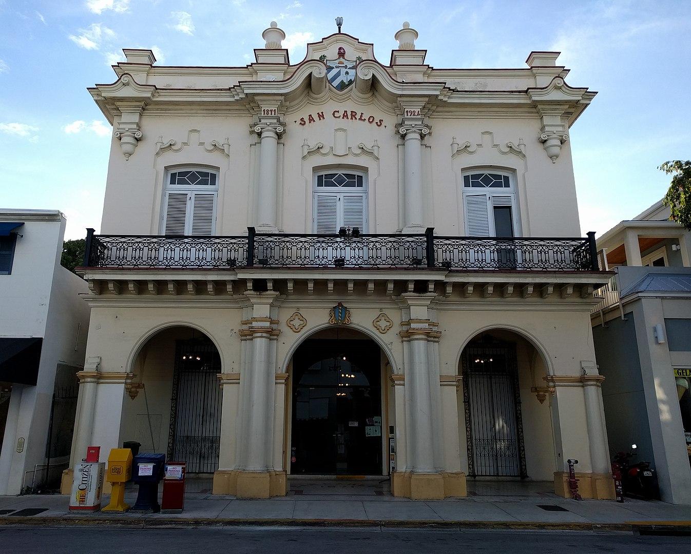 2015 photo of the San Carlos Institute
