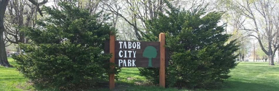 Tabor City Park Sign