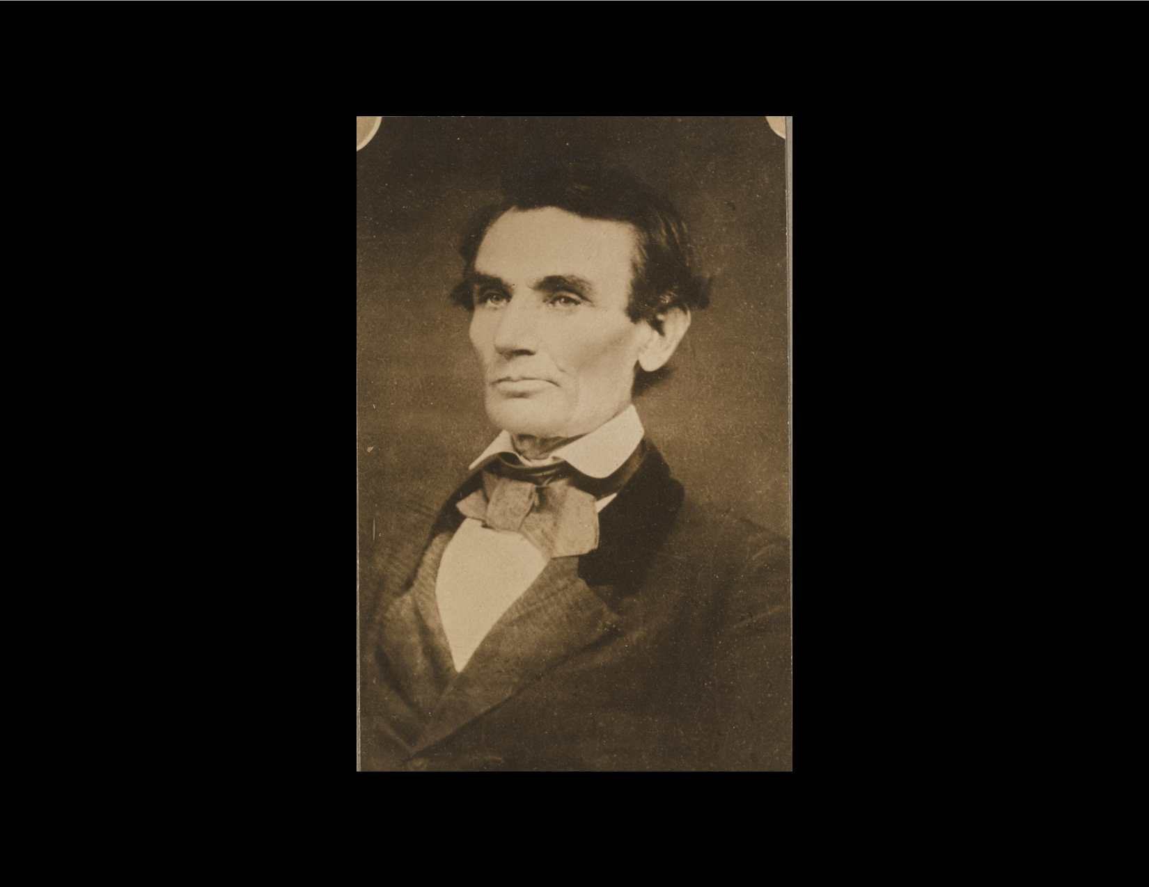 This photograph was taken by Alschuler at his photography studio in Urbana. A Busey Bank now stands near where the photography studio once was in downtown Urbana. It is the 3rd ever photo taken of Abe Lincoln.