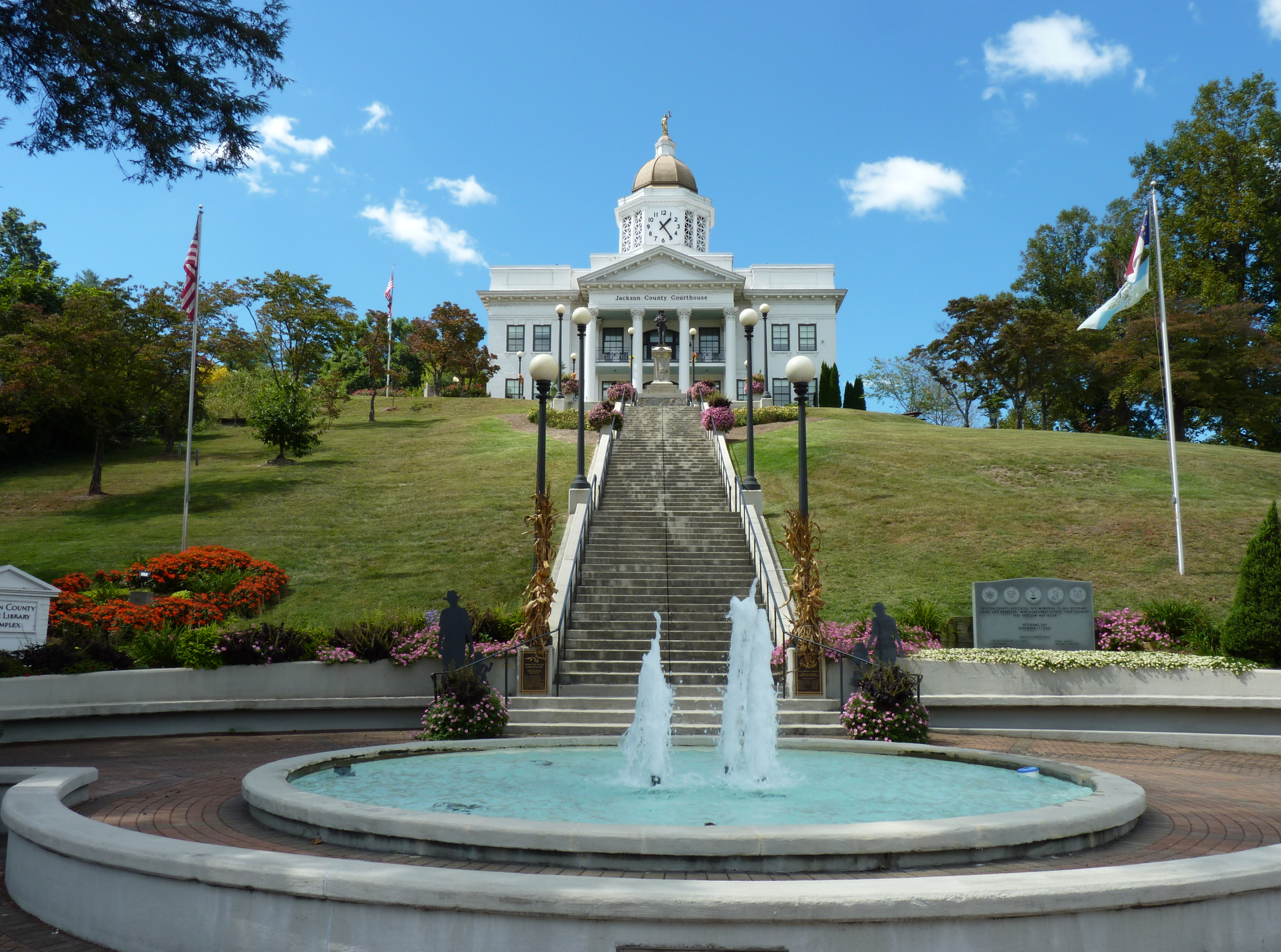 The Historic Jackson County Courthouse, Sylva, NC