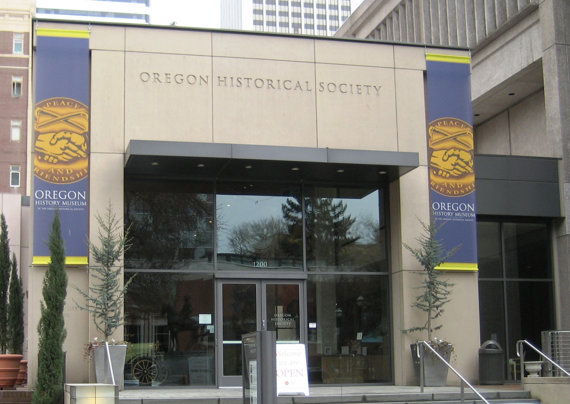 The Oregon Historical Society was established in 1898.