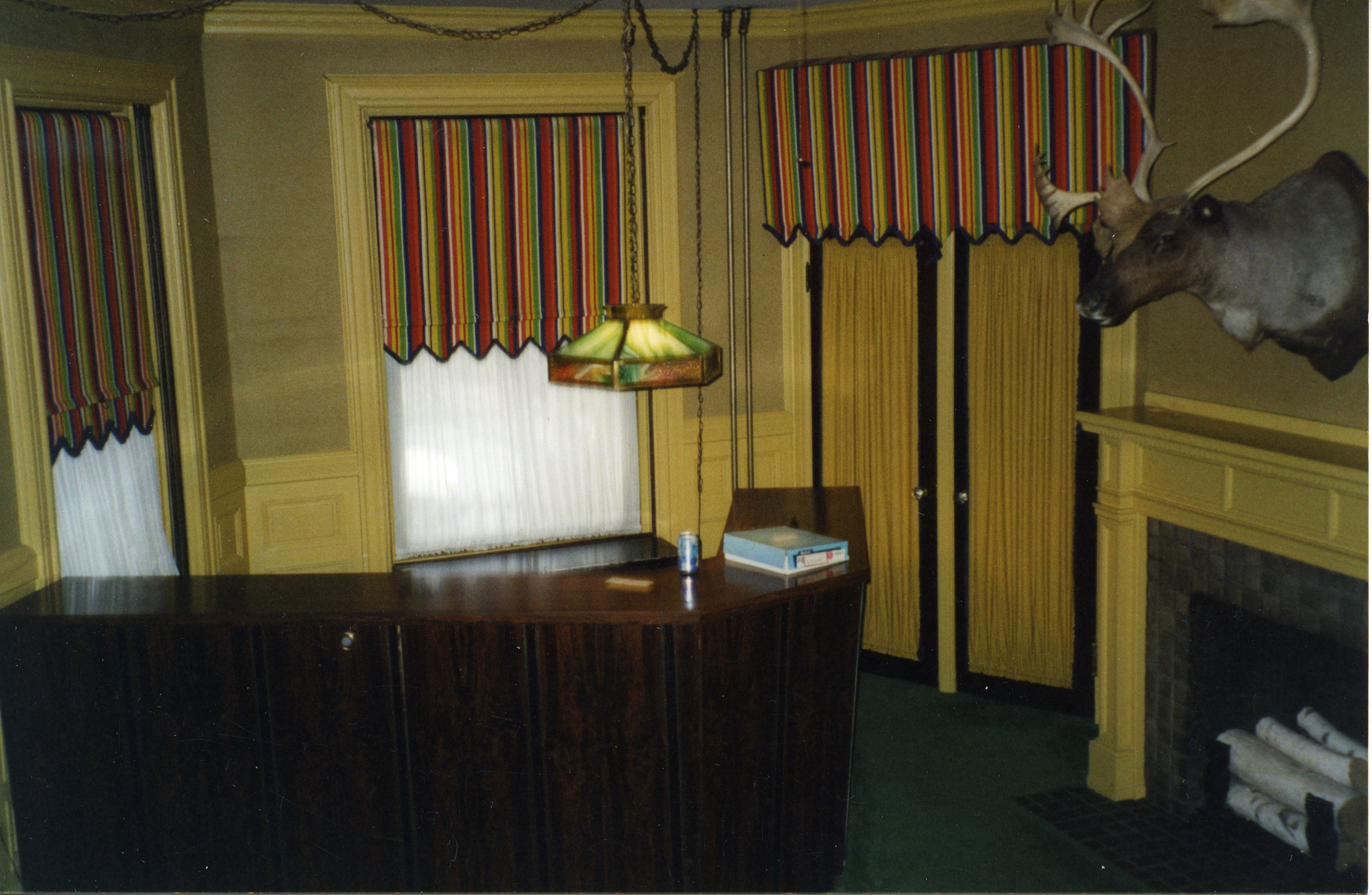 Reception Area in Foyer, pre-restoration (2002)
