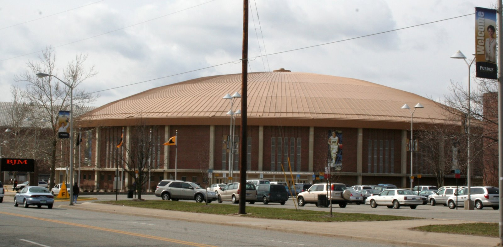 Mackey Arena in its original form, prior to the extensive renovations.