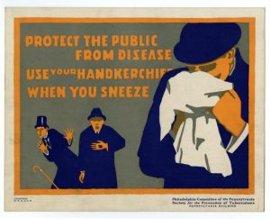 Advertisement on How to Prevent Contracting Tuberculosis