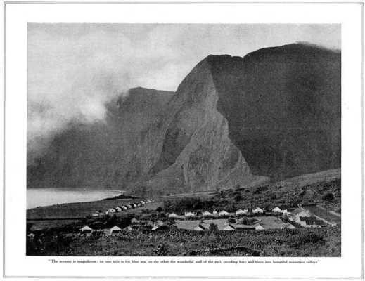 Old photo of the settlement