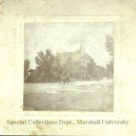 The original Adelphia Hotel, circa 1900