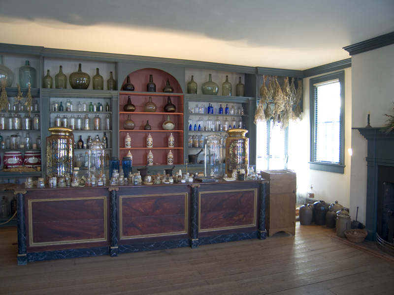Inside the Apothecary Shop