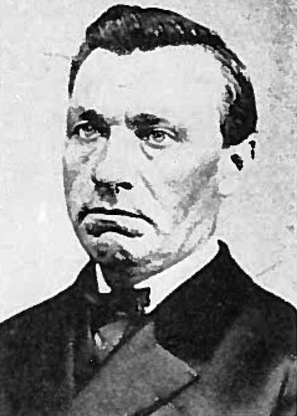 Reverend John Peter Kreusch (1818-1888)