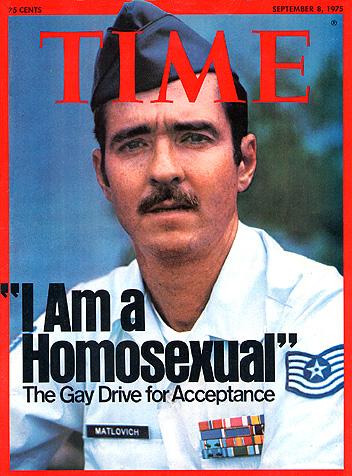 """""""I Am a Homosexual"""" TIME Magazine"""