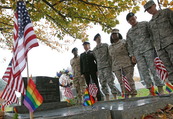 participate in a vigil at the gravesite of Sgt. Leonard Matlovich ... More