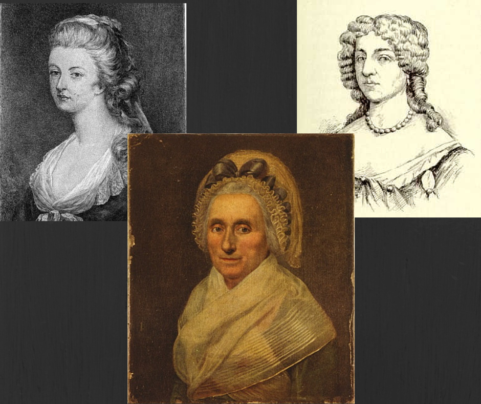 Renditions of Mary Washington through the years