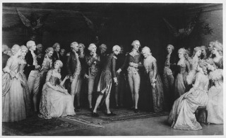 A rendition of the Peace Ball, held in the tavern, following the victory at Yorktown.