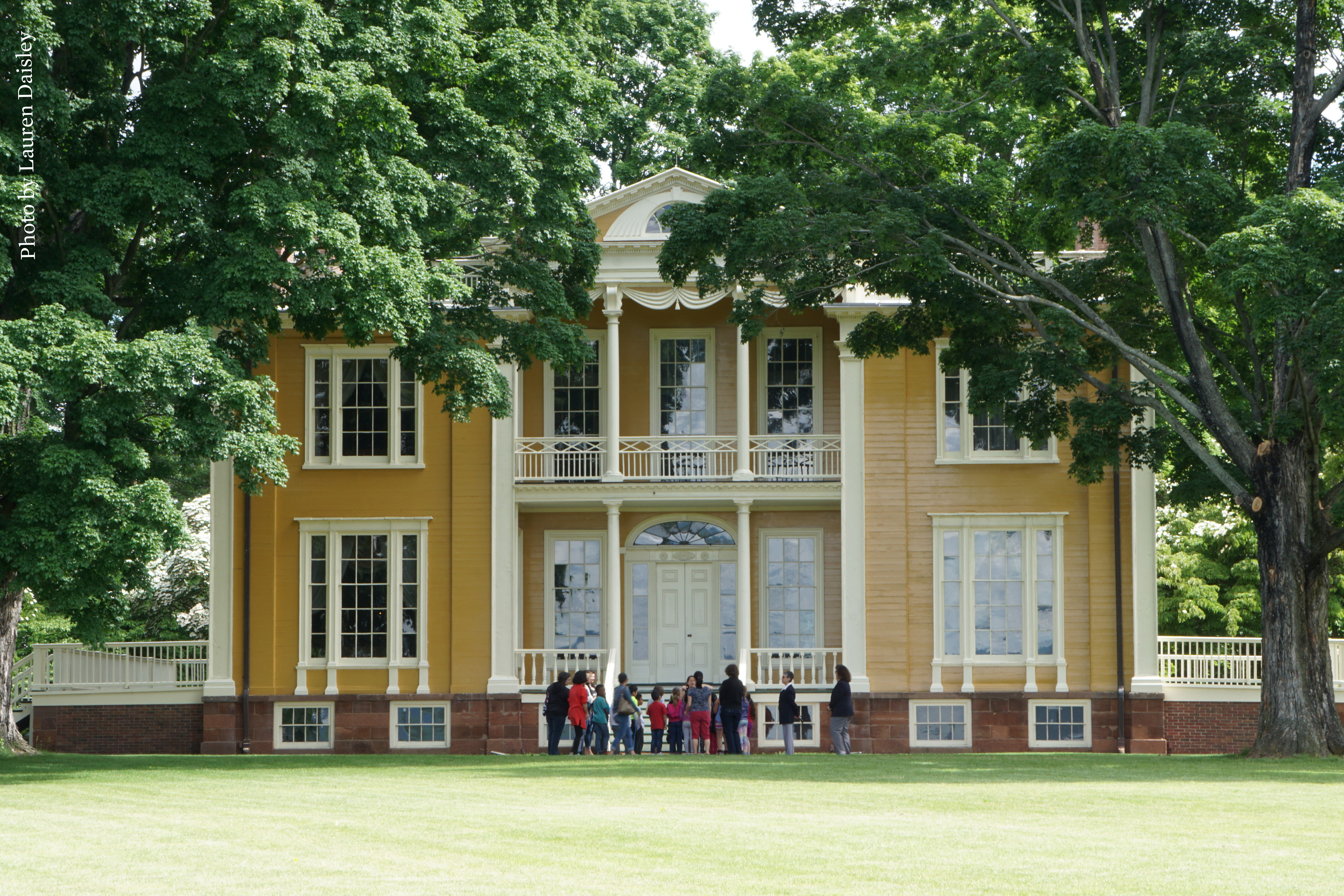 Boscobel offers guided tours of the house and grounds