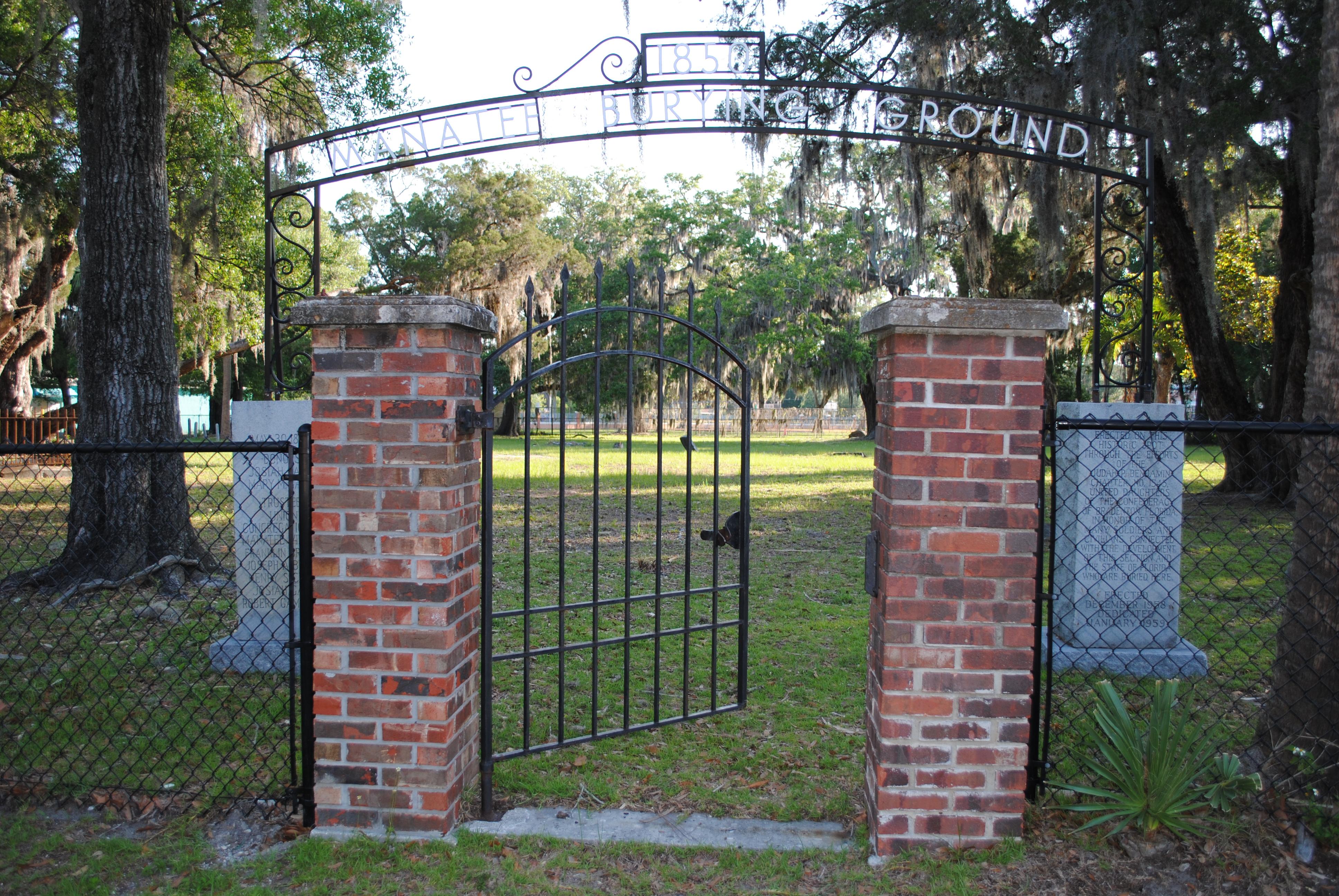 1850 Manatee Burying Ground