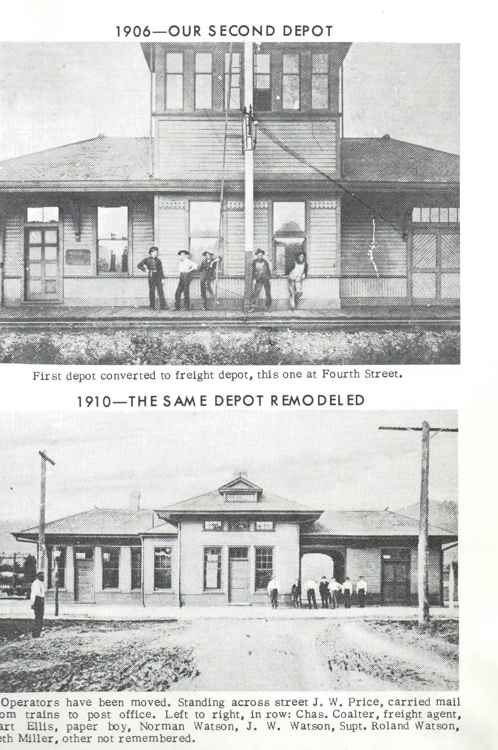 Here is a picture of the Chesapeake and Ohio Depot 
