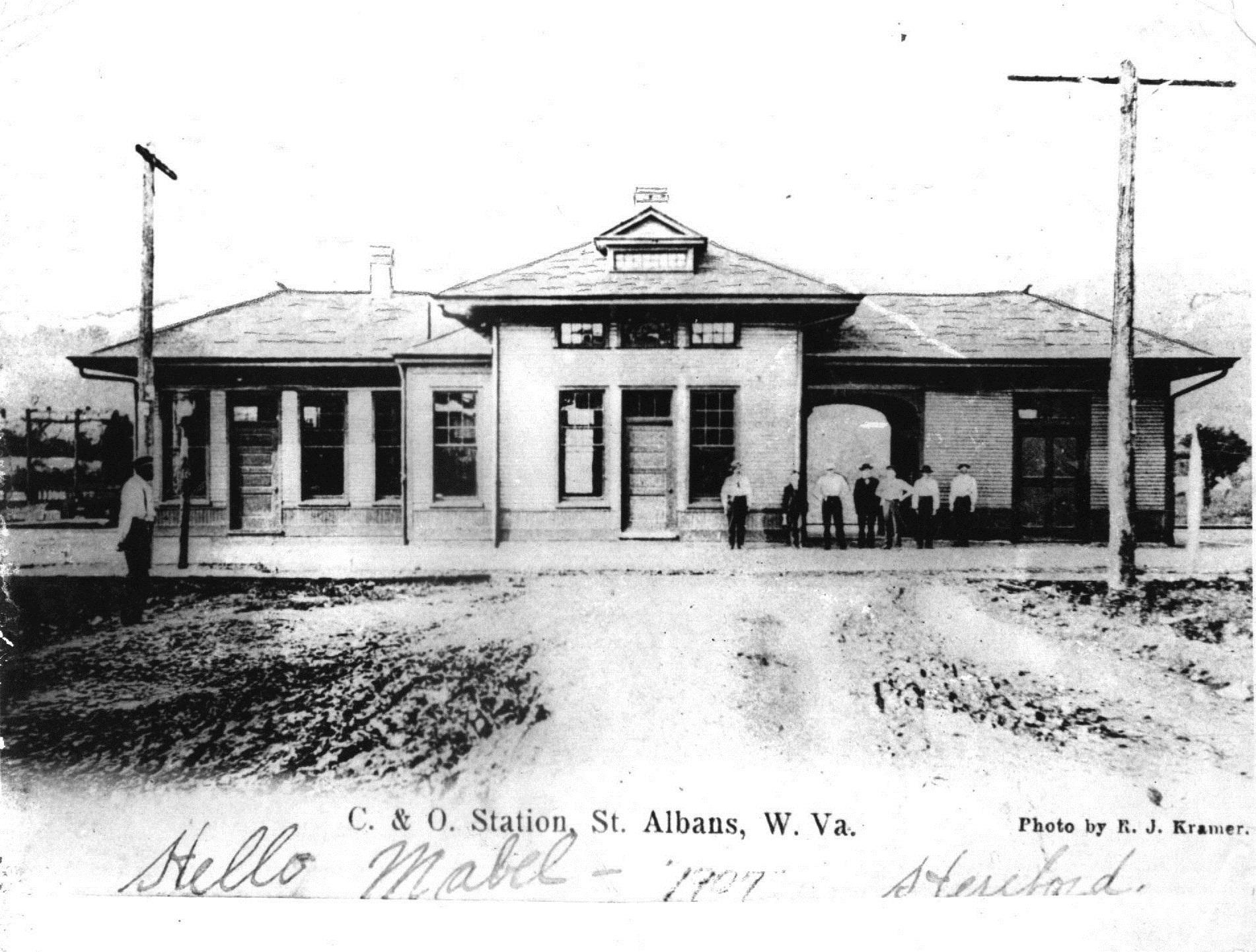 C&O Depot, 1907