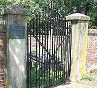 Original gate to the Gordon Family Cemetery