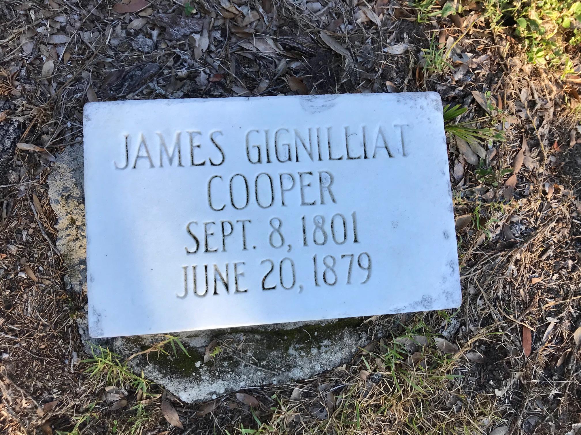 James Gignilliat Cooper