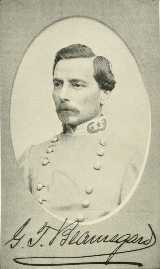 Beauregard became the first brigadier general for the Confederacy