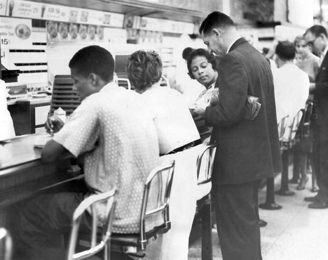 Sit-In at the Canal Street Woolworth's, September 10, 1960.