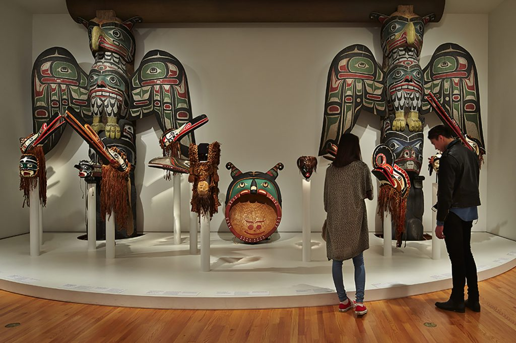 One of the Native American Galleries