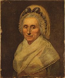 Mary Ball Washington before her death