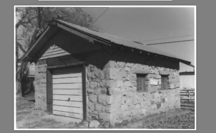 Blast from the Past: Stone Garage Outside of the House