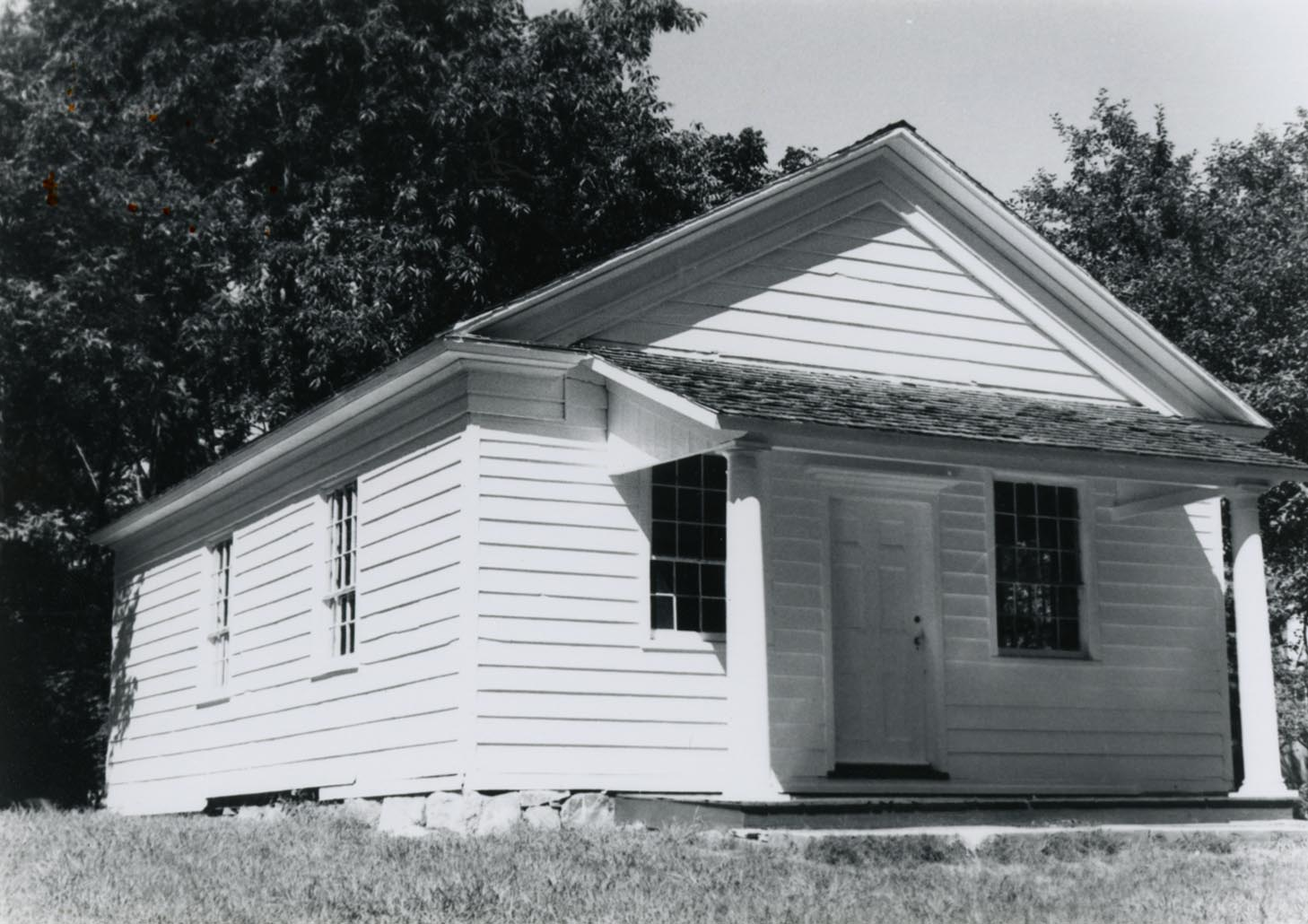 West Somers Methodist Episcopal Church in the 1970s.
